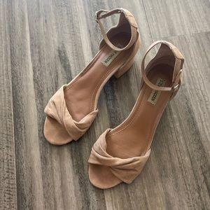 Steve Madden Blast Leather Twist Heeled Sandals